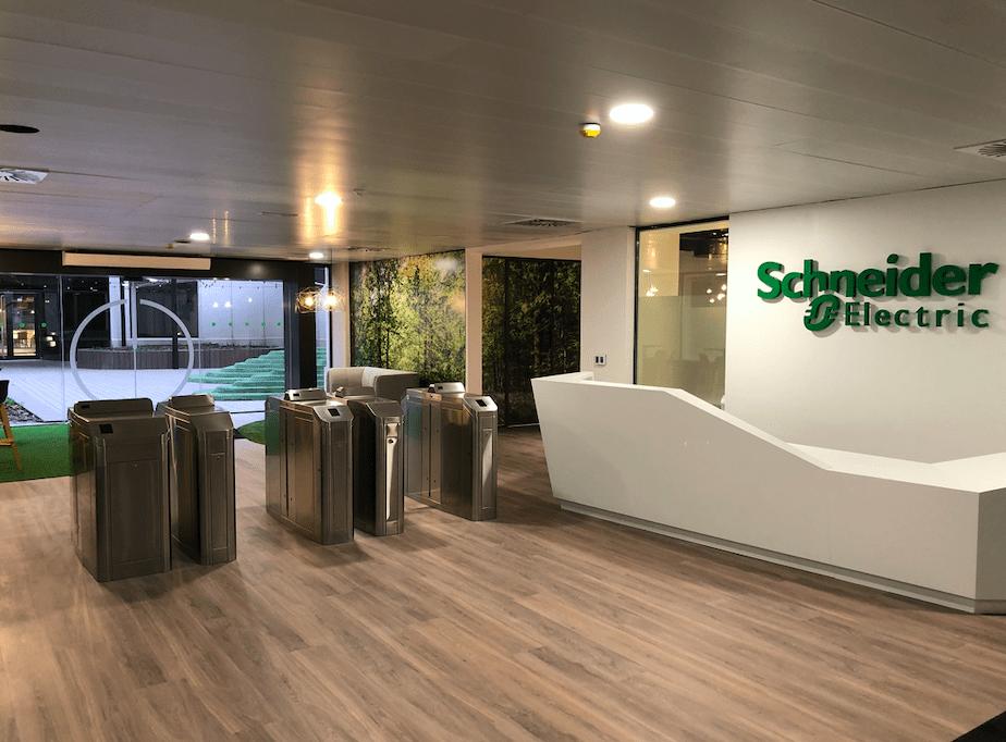 Foto de Las oficinas de Schneider Electric en San Sebastián de los