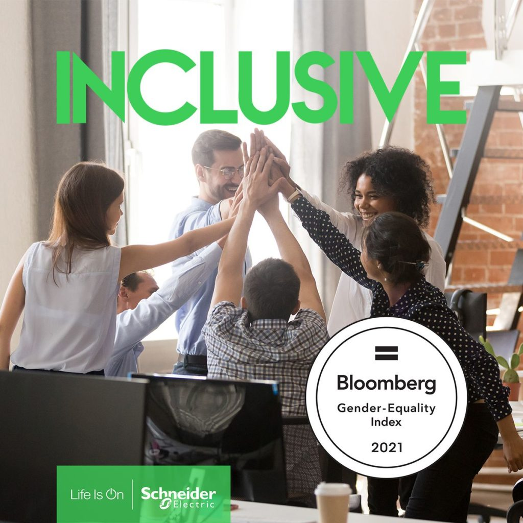 Foto de Schneider Electric en el Bloomberg Gender-Equality Index por