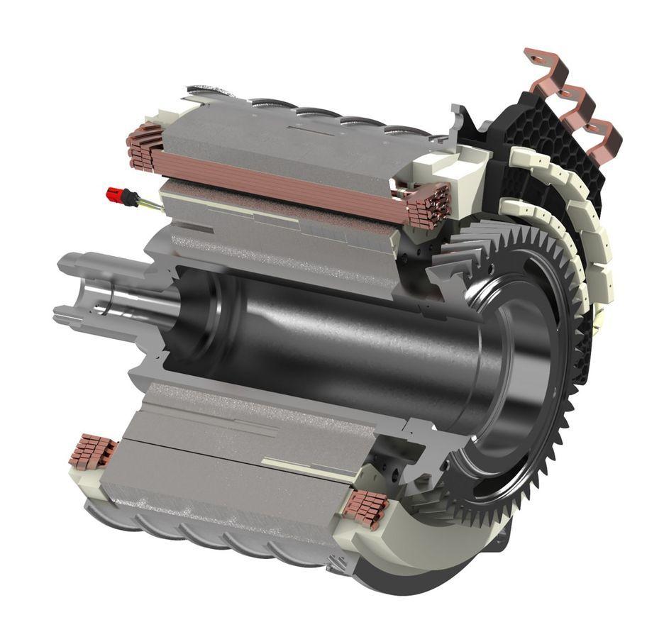 Foto de Motor eléctrico Schaeffler