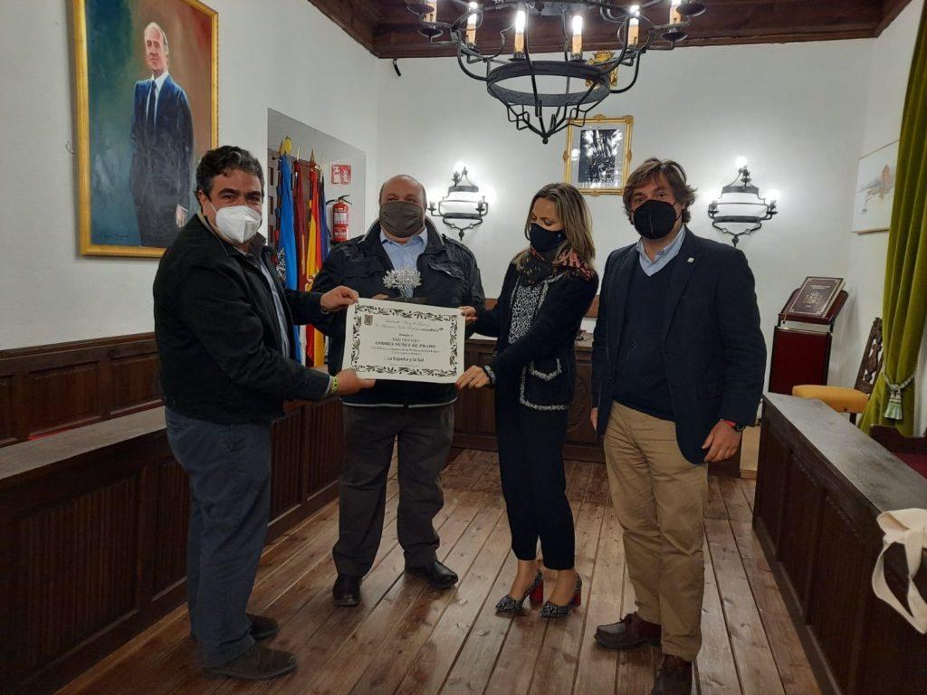 Foto de El premio ha sido entregado, en el Ayuntamiento de Sigüenza,