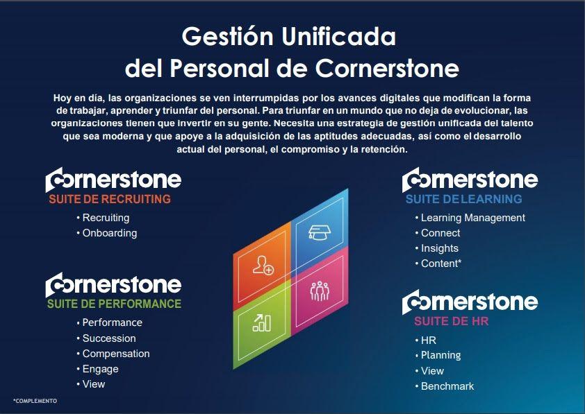 Foto de Cornerstone es un referente mundial para la gestión del