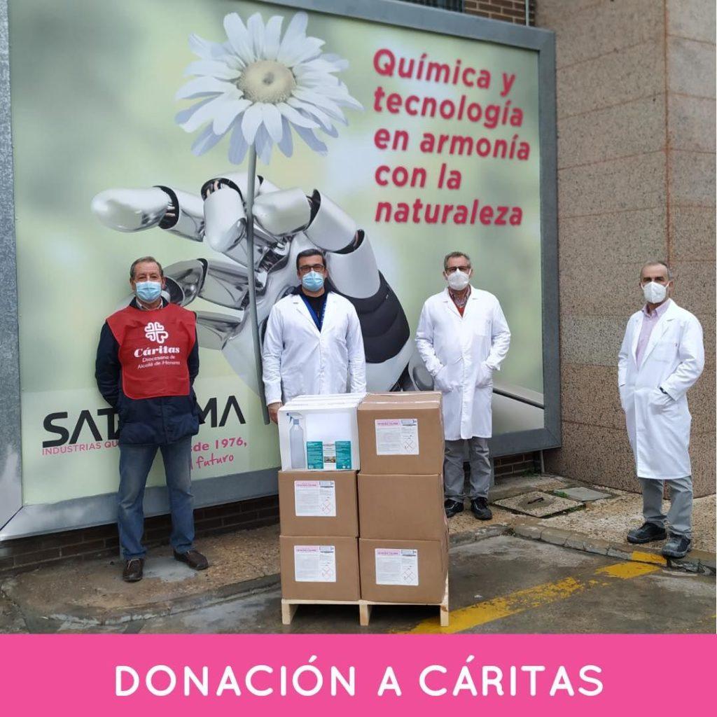 Foto de Donación Caritas