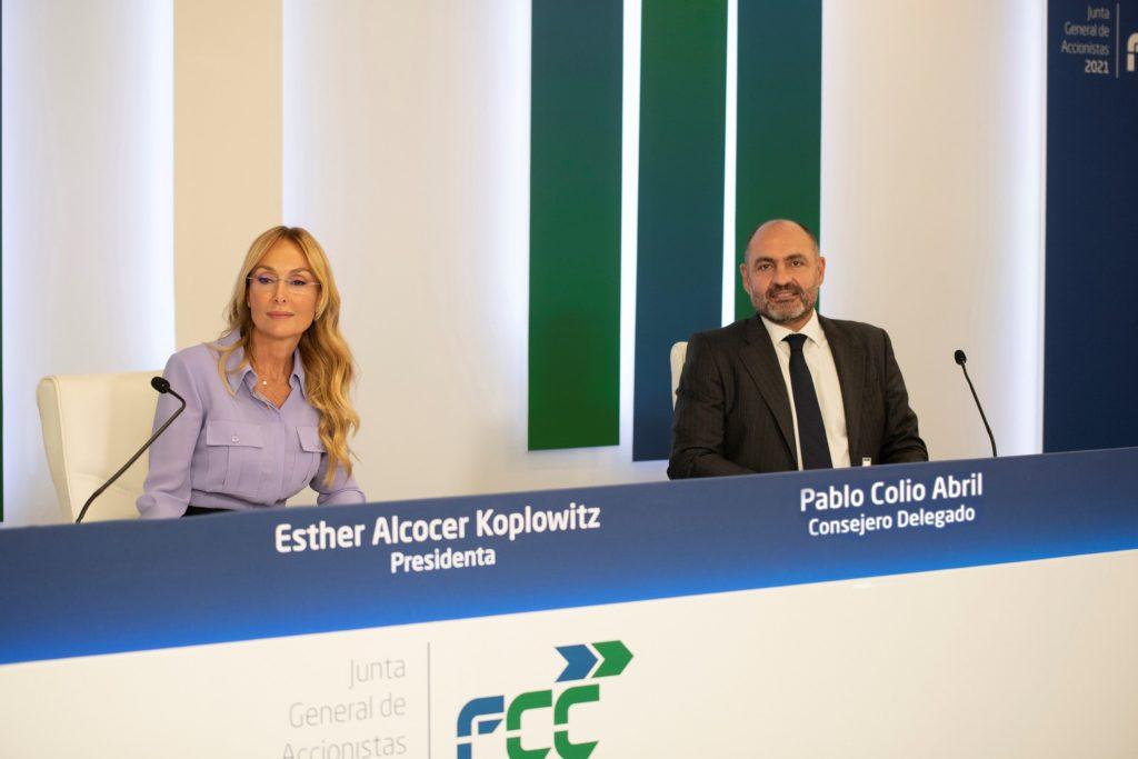 Foto de Junta General de Accionistas de FCC 2021