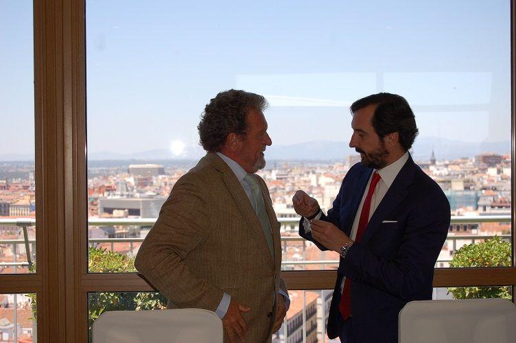 Foto de Jorge Azcárate, presidente de Honor de ANCED