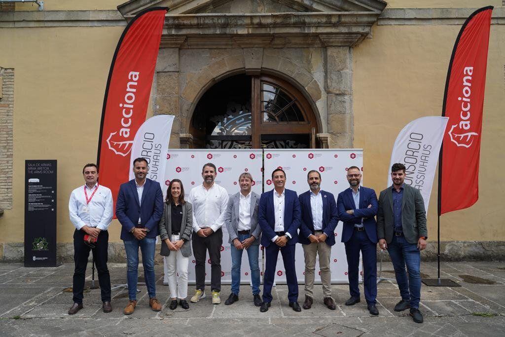Foto de Miembros de la Junta del Consorcio Passivhaus