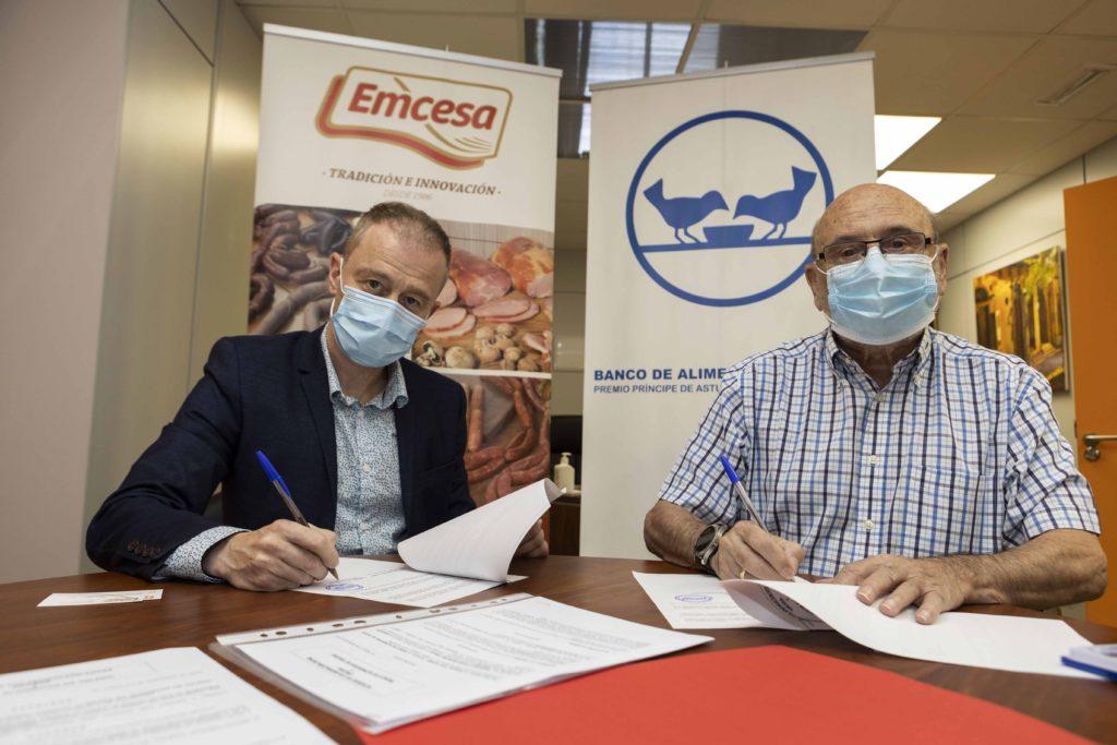 Foto de Emcesa firma un acuerdo anual con el Banco de Alimentos