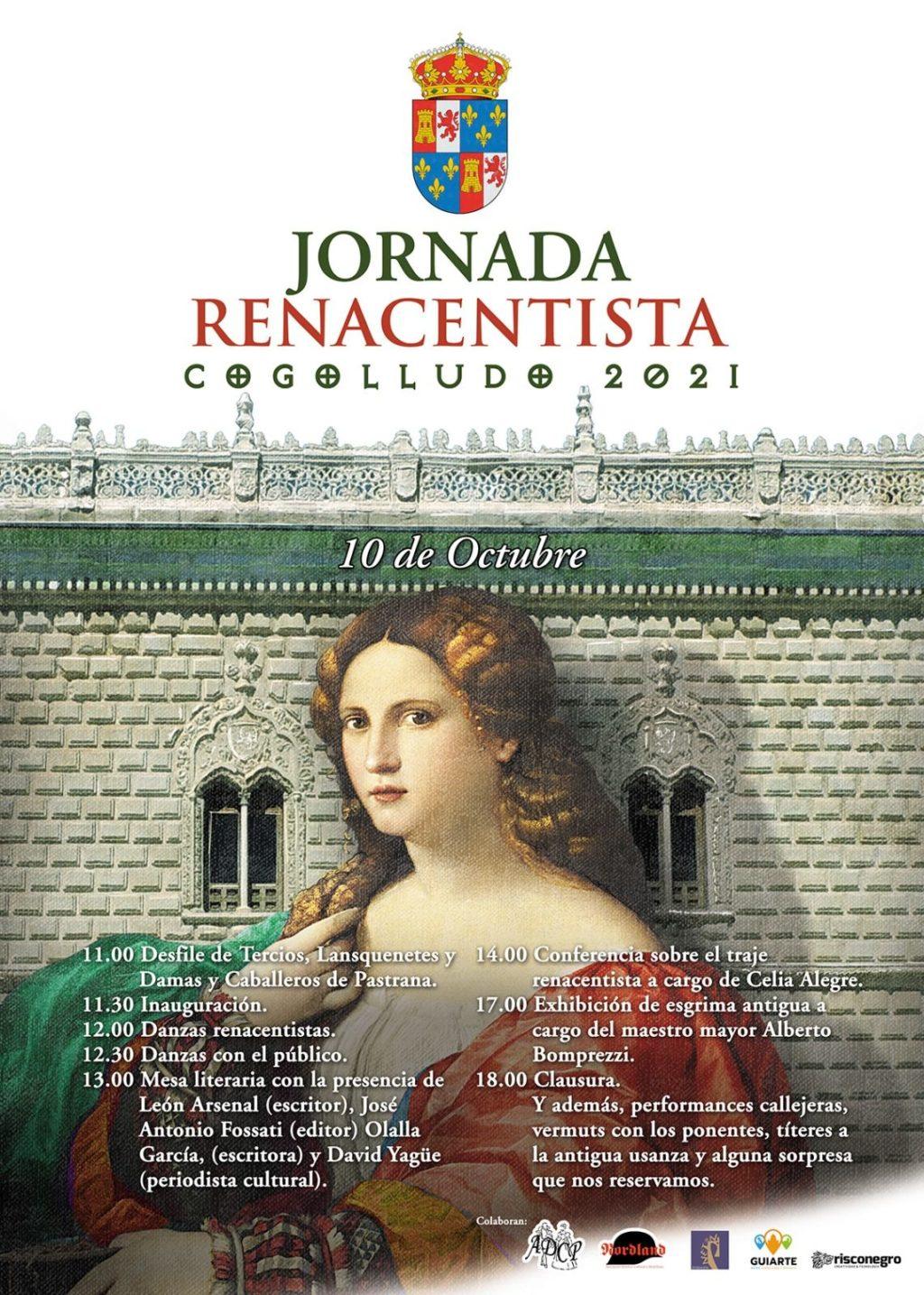 Foto de Cogolludo celebrará una Jornada Renacentista, el próximo